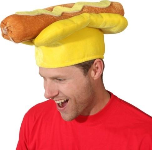 Faschingshut: Hotdog - unisize