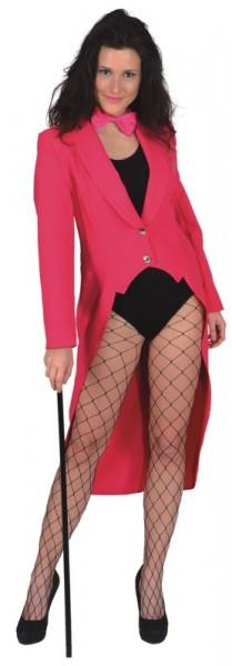 Damenfrack, pink in den Größen 34/36 bis 46/48