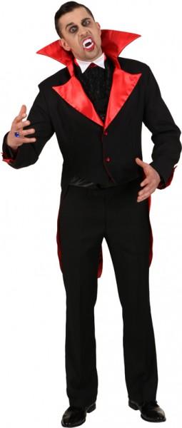 Draculafrack mit Jabot - Größe: 48 - 60