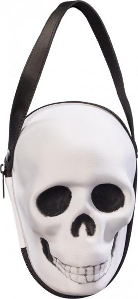 Fasching Halloween Tasche Totenkopf