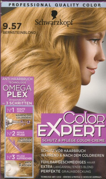 Expert Intensiv-Pflege Color-Creme, 9.57 Bernstein Blond