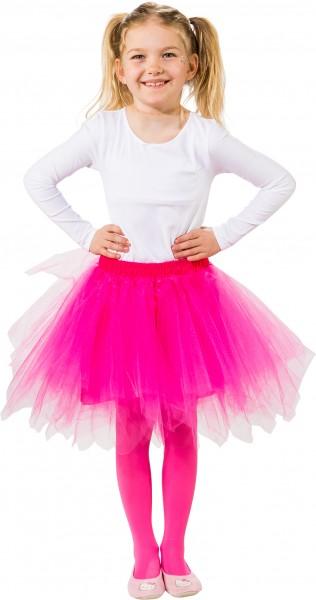 Fasching Kostüm Kinder Tutu in 10 Farben, unisize Gr. 116/140 - ohne Body