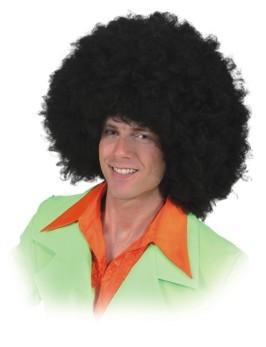 Perücke Afro Jimmy, schwarz