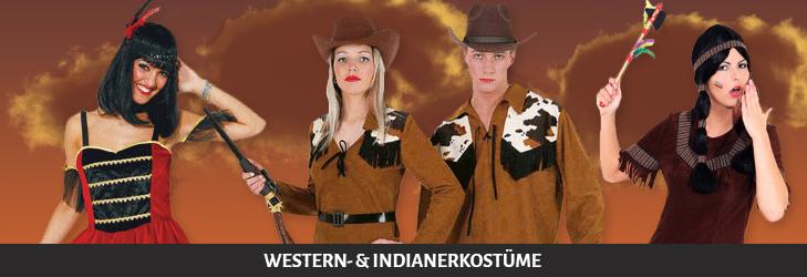 Western- und Indianerkostüme