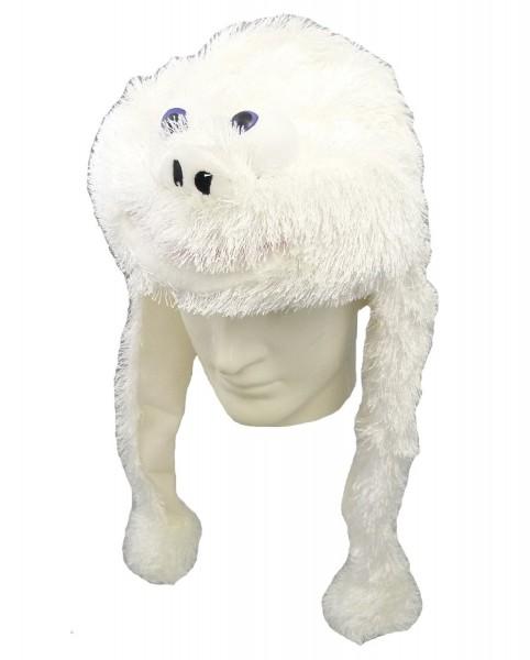 Plüsch Mütze Yeti