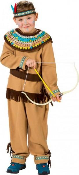 Fasching Kostüm Kinder Indianer Junge