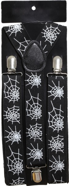 Hosenträger Spinnennetz