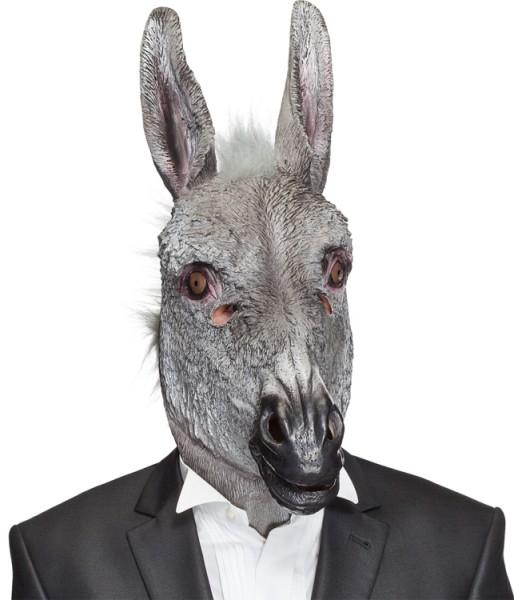 Faschingsmaske Überziehmaske Esel