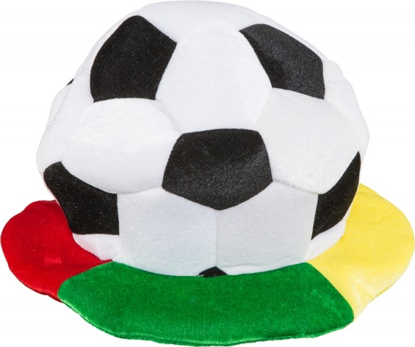 Faschingshut: Mütze Fußball - Einheitsgröße
