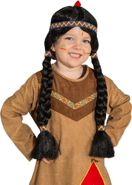 Faschingsperücke Kinder Apache