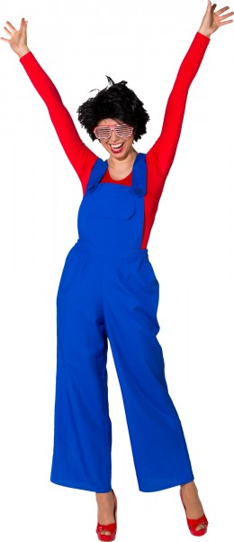 Fasching Kostüm Damen Latzhose