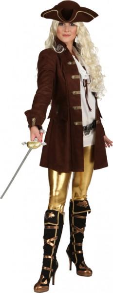 Damenjacke de Luxe, braun - Größe: 36 - 48