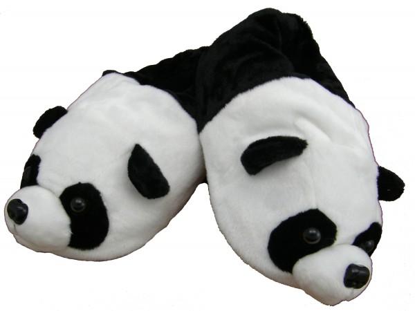 """Plüschhausschuhe """"Panda"""", Größe S - XL"""