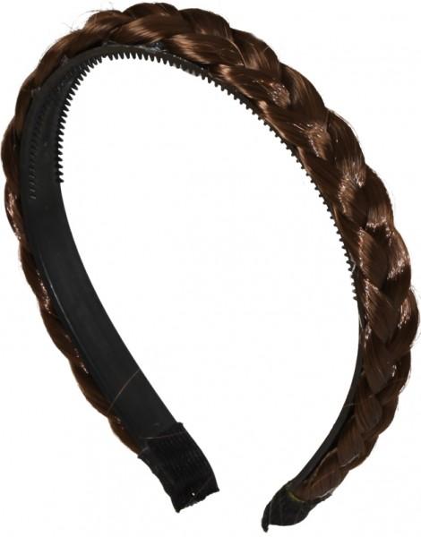 Fasching Haarreif geflochten blond, schwarz, braun, gut geeignet für Frisuren zum Dirndl oder zur Tr