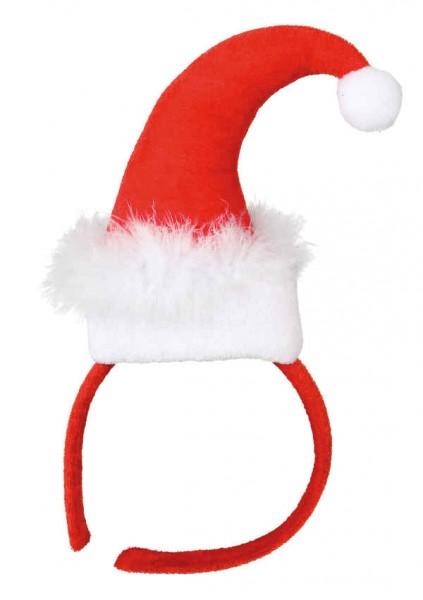 Faschingszubehör: Haarreif Miss Santa