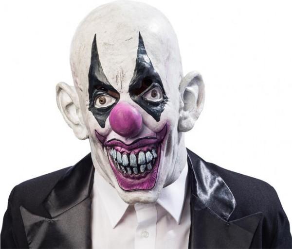 Clown Maske, Überziehmaske