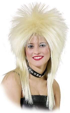 Perücke Hard Rock, blond