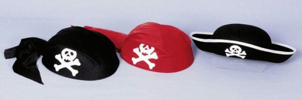 Faschingshut Kinder Piratenkappe 53 cm Kopfweite