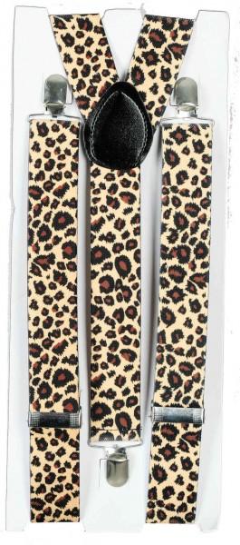 Hosenträger Leopard