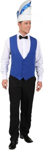 Weste, blau - Größe: 48/50 - 60