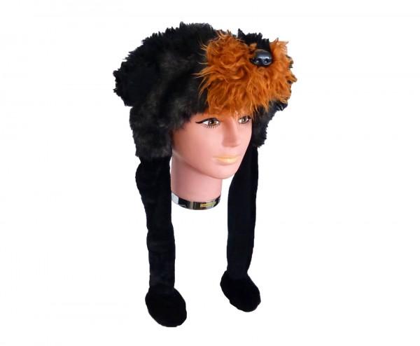 Tiermütze Plüsch Mütze Dackel