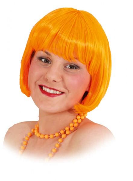 Perücke Sexy Lola, neon-orange