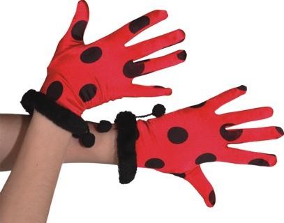 Faschingszubehör Handschuhe Käfer