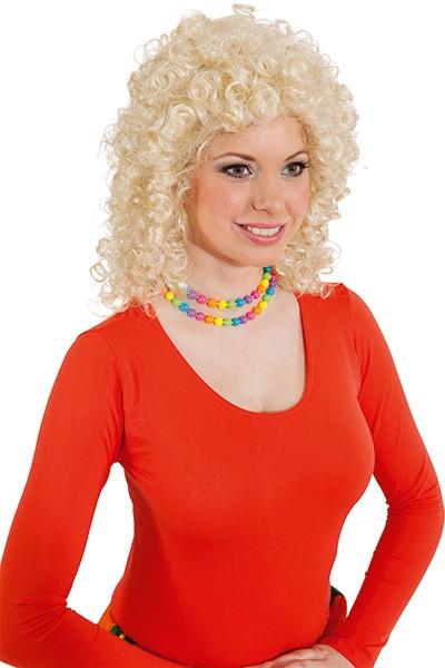 Perücke Damen: Madlen, blond (verstellbar)