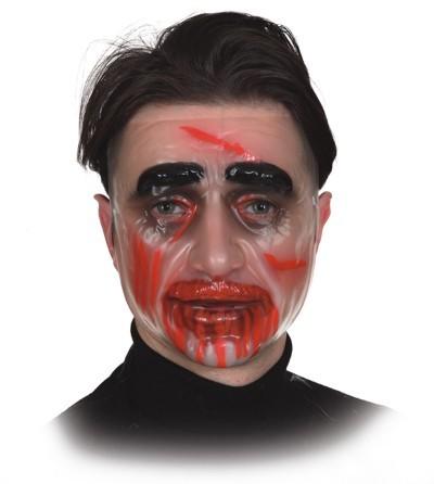 Fasching Halloween Zombie Maske Mann