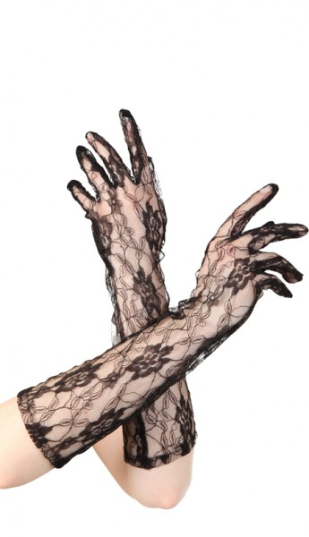 Madonna Handschuhe, ca. 37 cm lang