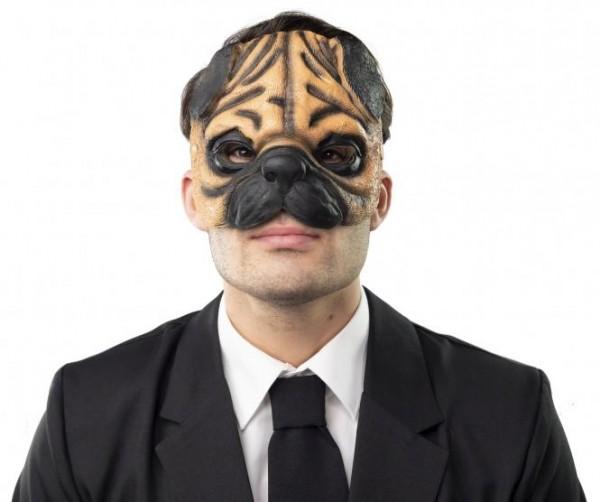 Fasching Maske Mops