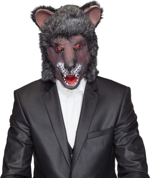Fasching Maske Bär (Gummimaske)
