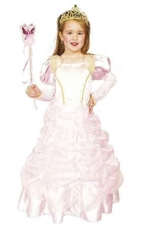 Fasching Kostum Kinder Prinzessin Rosa Kleid Mit Reifrock