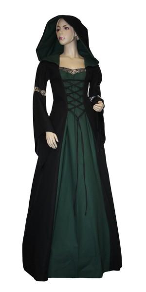 Hochwertiges Mittelalterkleid mit Gugel Lancelotclothing Größen 34 - 50