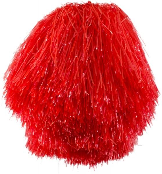 Faschingszubehör Cheerleader Pom-Pon´s in fünf Farben