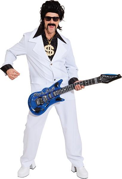 Anzug, weiß (Jacke und Hose) - Größe: 44/46 - 56/58