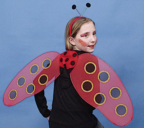 Käfer-Set (Haarreif,Flügel)