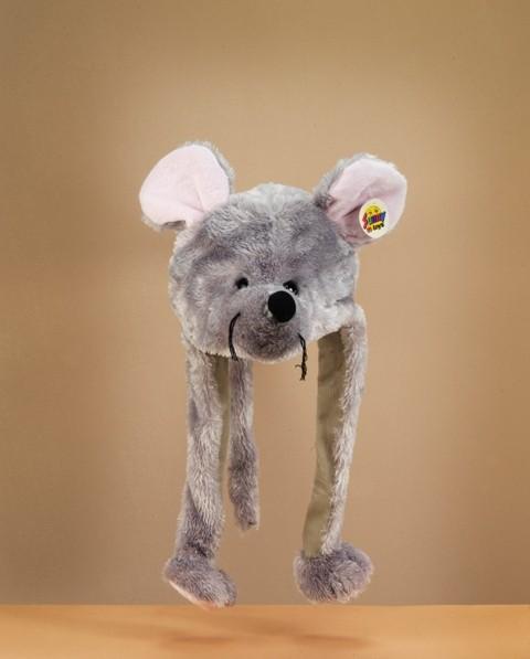Plüsch Mütze Maus 55 cm