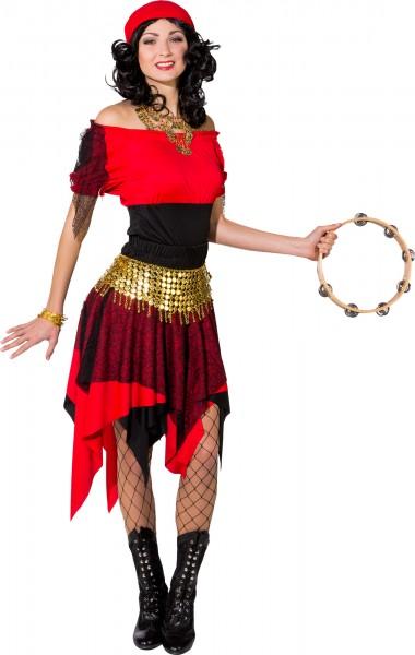 Fasching Kostüm Damen Wahrsagerin