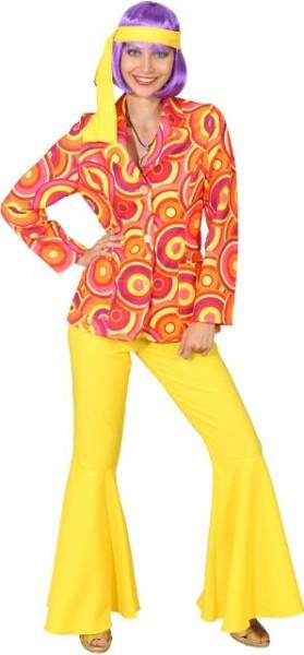 Anzug Crazy, orange-gelb (Jacke, Hose) - Größe: 34 - 48