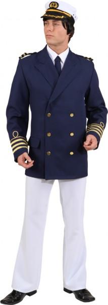 Admiral-Jacke, blau - Größe: 50/52 - 62/64