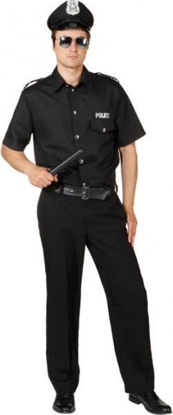Police Man, schwarz - Größe: 46/48 - 58/60