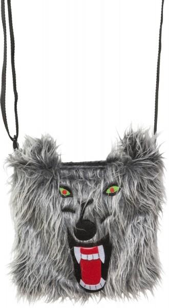 Fasching Halloween Tasche Wolf