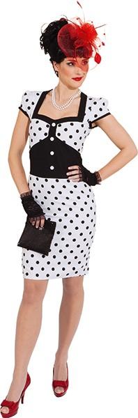 Pin up Kleid - Größe: 34 - 42