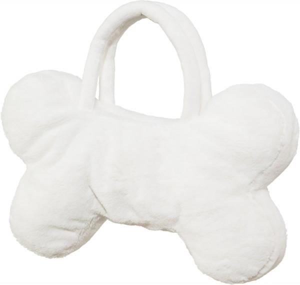 Fasching Halloween Tasche Knochen weiß