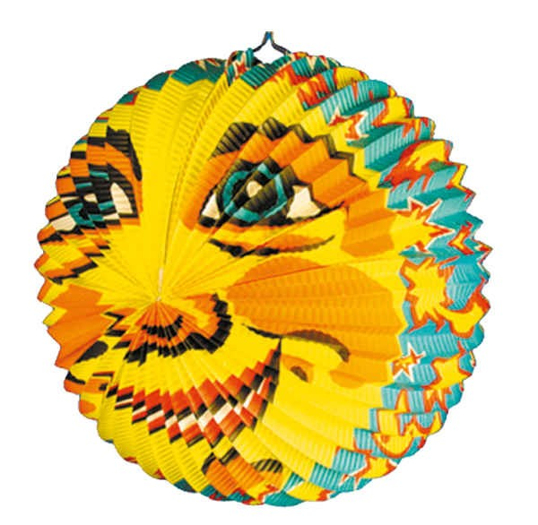Partyzubehör: Lampion Mond Ø 42 cm
