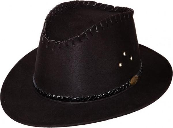 Cowgirlhut, schwarz, KW 58