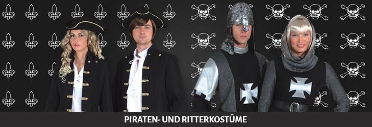 Piraten- und Ritterkostüme