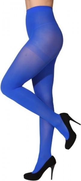 Blickdichte Strumpfhose, blau in den Größen S/M bis XXL/XXXL