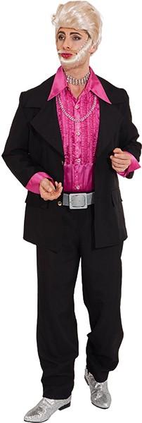 Anzug, schwarz (Jacke und Hose) - Größe: 44/46 - 60
